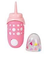 Интерактивная бутылочка Zapf для куклы Baby Born Забавное Кормление со звуком (822104)