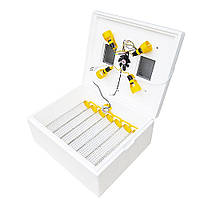"Инкубатор для яиц с автоматическим переворотом ""Теплуша-63""(терморегулятор Цифровой, вентилятор)"