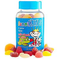 Витамины и минералы для детей жевательные, от двух лет, Gummi King, 60 конфет