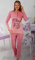 Байковая женская пижама 149