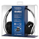 Наушники SVEN AP-B450MV с микрофоном Bluetooth гарнитура  для смартфона + пк, фото 6