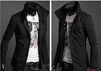Куртка-пиджак черного цвета