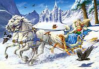 Пазлы Снежная королева 120 элементов Castorland В-12589