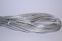 Шнур прошивной из искусственной кожи(22.86м)Сталь св(лак)