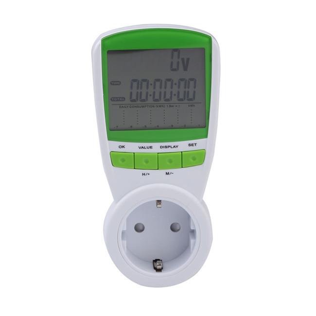 Цифровой Ваттметр Счётчик электроэнергии TS-838