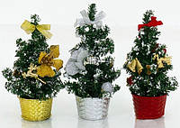 Елка в вазоне (20 см. 3 вида)