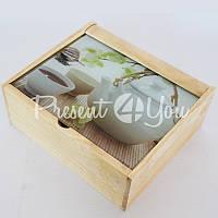 Коробка для чайных пакетиков, h-8х19,5х22 см.