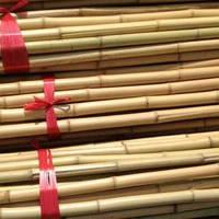 Опоры из бамбук прямые