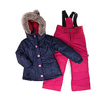 Зимний костюм для девочки PELUCHE 50 EF M F16. Размеры 127 и134.