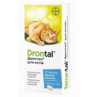 ДРОНТАЛ для котов №8 таблетки BAYER