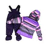 Зимний костюм для девочки PELUCHE F16M40BF  Lavander. Размер 24 мес., фото 2