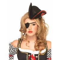 Мини Пиратская шляпка