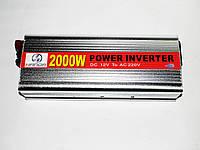 Преобразователь инвертор 12v-220v 2000W, фото 1
