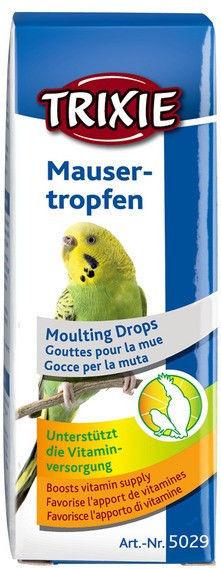 Витамины для птиц Trixie капли при линьке, 15 мл