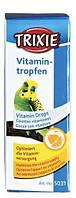 Витамины для птиц Trixie капли укрепляющие иммунитет, 15 мл