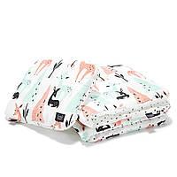 Детское постельное белье La Millou White Bambi & Forest Bambi