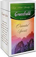 Чай Гринфилд черный Oriental Spirits железная банка 125г.