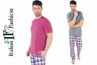 Классическая мужская пижама Italian Fashion Bartosz