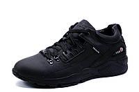 Кроссовки зимние Jordan Techlite 750, мужские, на меху, натуральная кожа, черные, фото 1