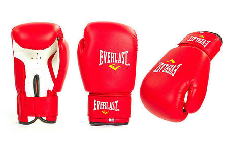 Рукавички боксерські PVC на липучці ЮНІОР MA-0033 ELAST, фото 2