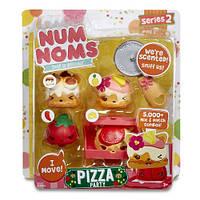 Набор ароматных игрушек NUM NOMS S2 - ПИЦЦЕРИЯ (3 нама, 1 ном, с аксессуарами)