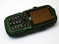 Телефон Land Rover S23 Зеленый - 3 Sim + 10.000 mAh