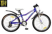 """Велосипед 24"""" Optimabikes COLIBREE синий"""