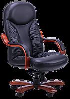 Кресло руководителя Буффало, (6231-B LEATHER+PVC)