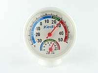 Гигрометр-термометр механический настольный влагомер градусник, фото 1