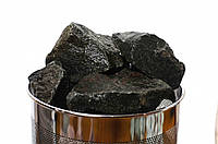 Габбро-диабаз колотый 50*150 мм 10 кг (для дровяных каменок)