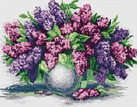 Алмазная вышивка цветочная тематика