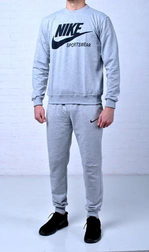 Мужской спортивный костюм Nike Sportswear (найк), серый