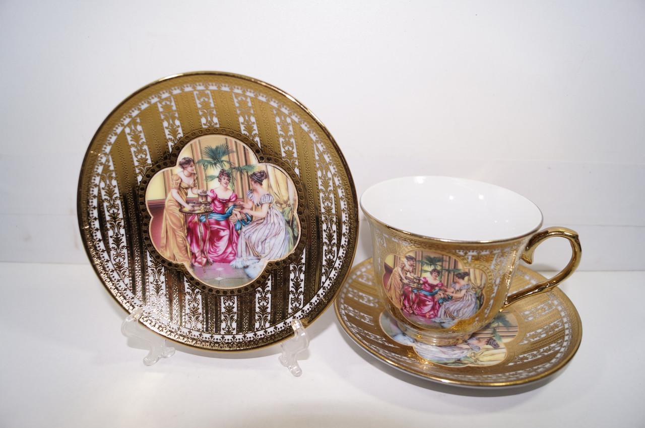 Чайный набор 4 предмета
