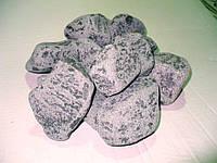 Габбро-диабаз овалованый 40*80 мм 10 кг (для электро каменок)