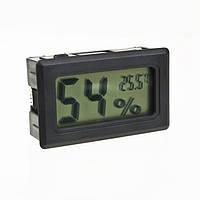 Гигрометр Термометр Влагомер Градусник цифровой Черный