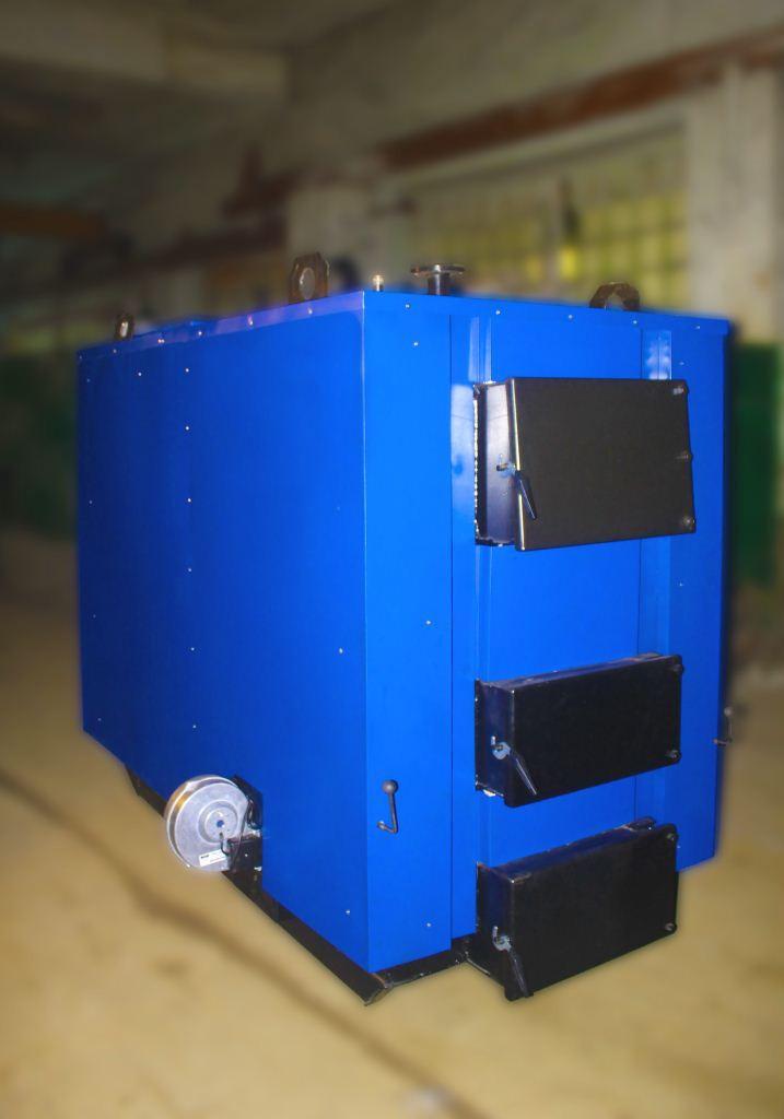 Котли твердопаливні БілЕко-100К на вугіллі, брикетах, дровах