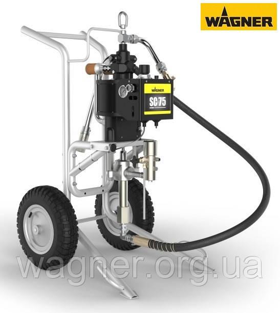 Пневматический поршневой насос Wagner SuperCoat 75 на тележке - WAGNER, Окрасочное оборудование в Одессе