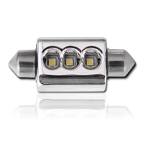 Светодиодная CANBUS автолампа с обманкой FT10-36-38mm-CANBUS-9W (200Lm) CREE LED