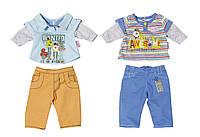 Набор одежды для куклы BABY BORN - СПОРТИВНЫЙ МАЛЫШ 2 набора, в ассортименте (822197)