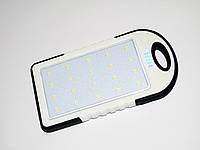 Сонячне зарядний пристрій Power Bank 8000 mAh Білий