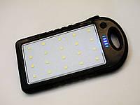 Солнечное зарядное устройство Power Bank 8000 mAh Черный