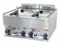 Электрическая настольная фритюрница Kogast EF-60/2 (две ванны по 8 л)