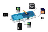 Кардридер SDHC MS M2 TF Micro #100071, фото 1