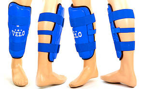 Защита для ног (голень) Кожа для тайского бокса и кикбоксинга VELO