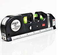 Лазерный Уровень Рулетка Линейка для стройки Laser Level Pro PRO 3, фото 1