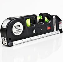 Лазерный Уровень Рулетка Линейка для стройки Laser Level Pro PRO 3
