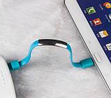 Кабель-браслет USB-lightning для iphone або ipad СІРИЙ SKU0000372, фото 5
