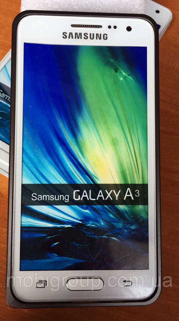 Металлический бампер для Samsung A3 (2015)