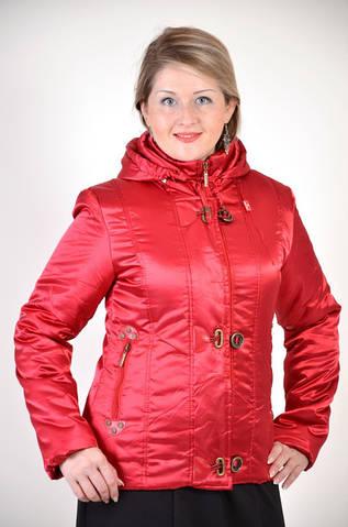 Куртка женская красная ( П0 009-1)