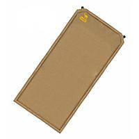 Отличный самонадувающийся коврик размером 185 x 130 x 5 см Tramp